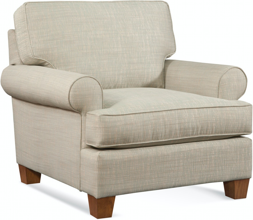 Patio Furniture Stores Near Princeton Nj: Braxton Culler Living Room Bay Hill Chair 742-001