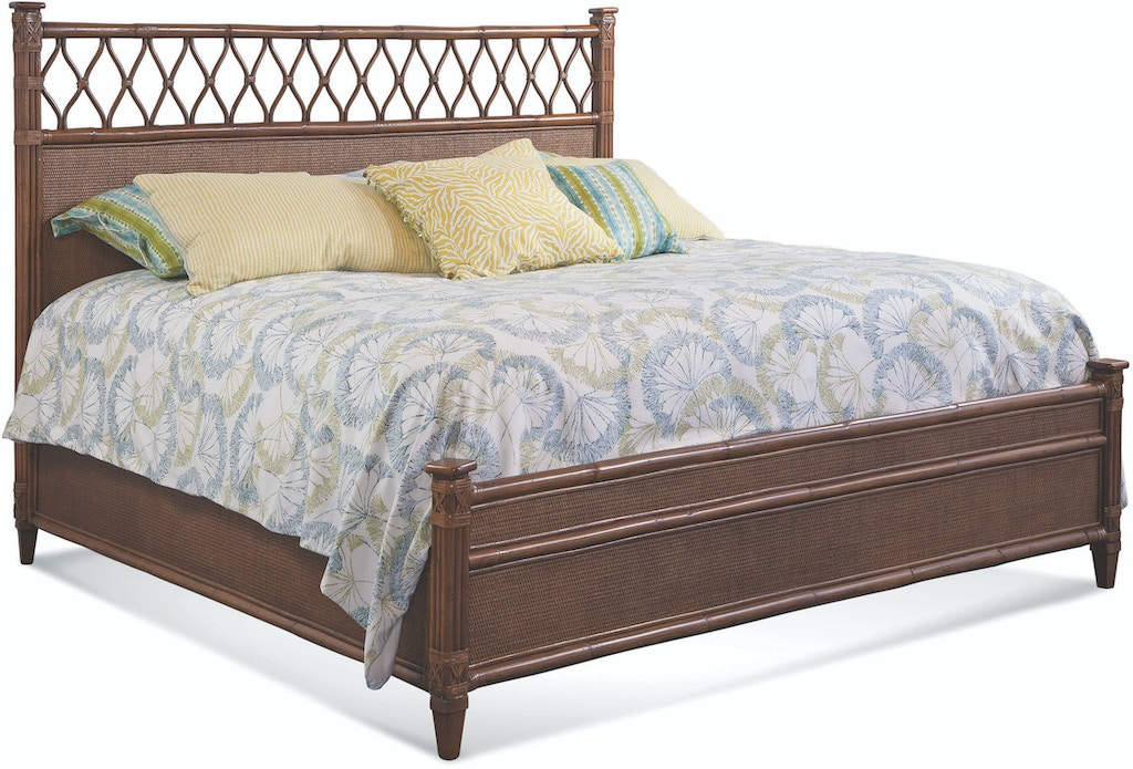 Braxton Culler Bedroom Columbia Fretwork Bed 828 Fret Bed