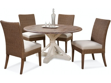 Outstanding Wicker And Rattan Dining Room Sets Braxton Culler Sophia Nc Short Links Chair Design For Home Short Linksinfo