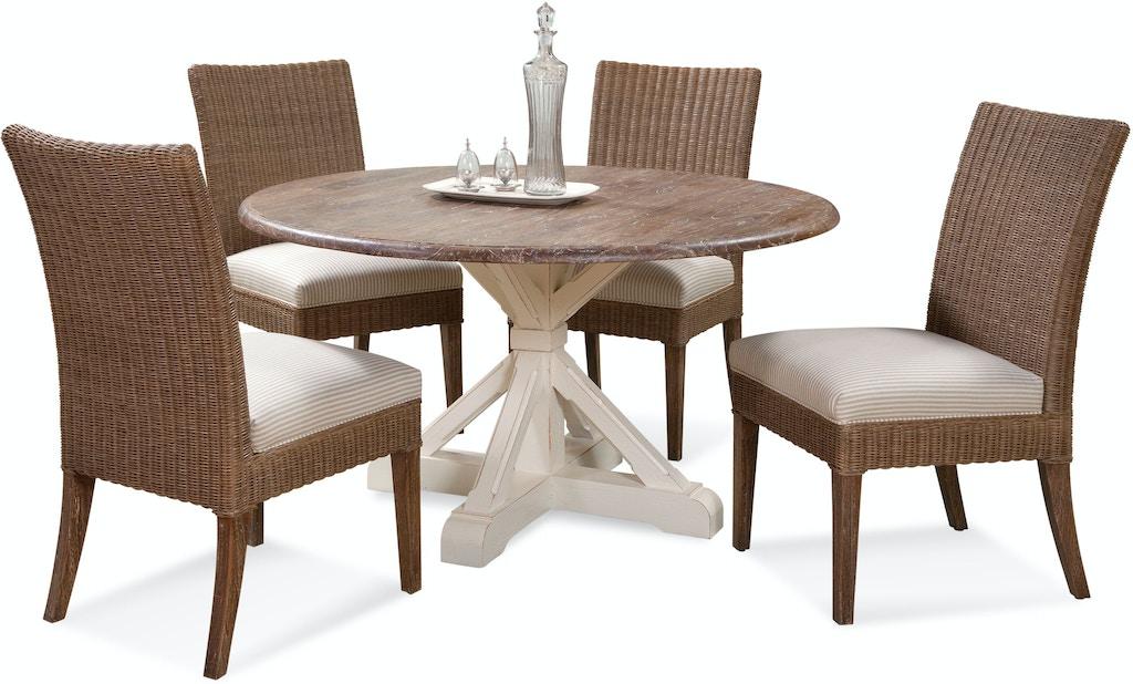 Braxton Culler Dining Room Farmhouse Round Pedestal Dining