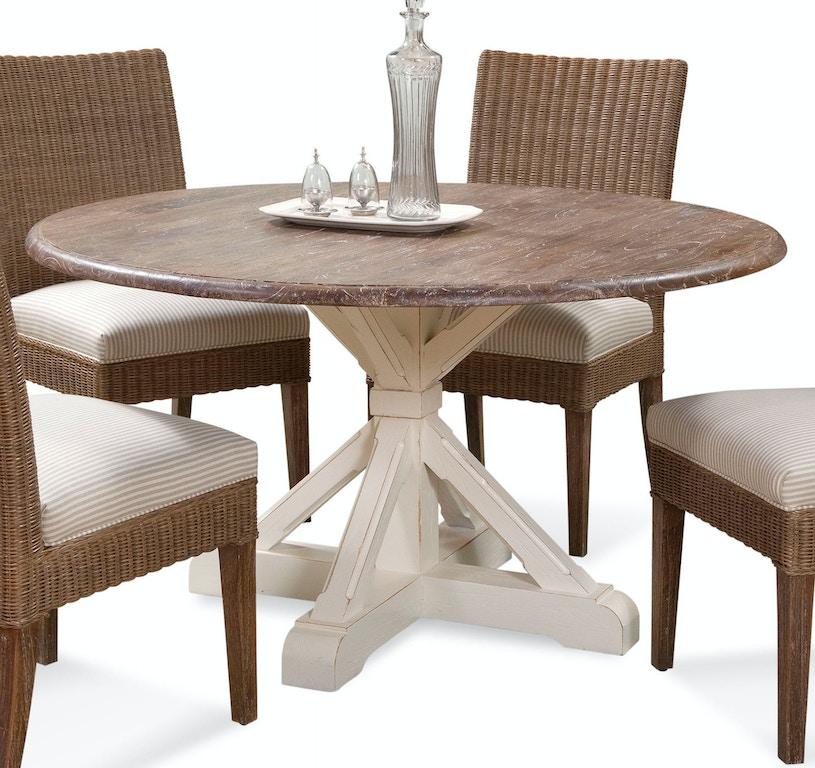 Braxton Culler Dining Room Farmhouse Round Pedestal
