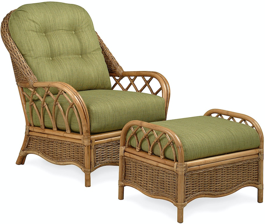 Braxton Culler Living Room Everglade Wicker Chair And