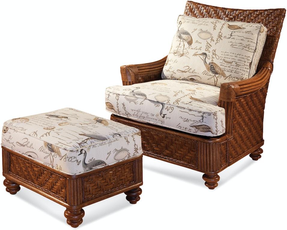 Braxton Culler Living Room Topsail Ottoman 954 009