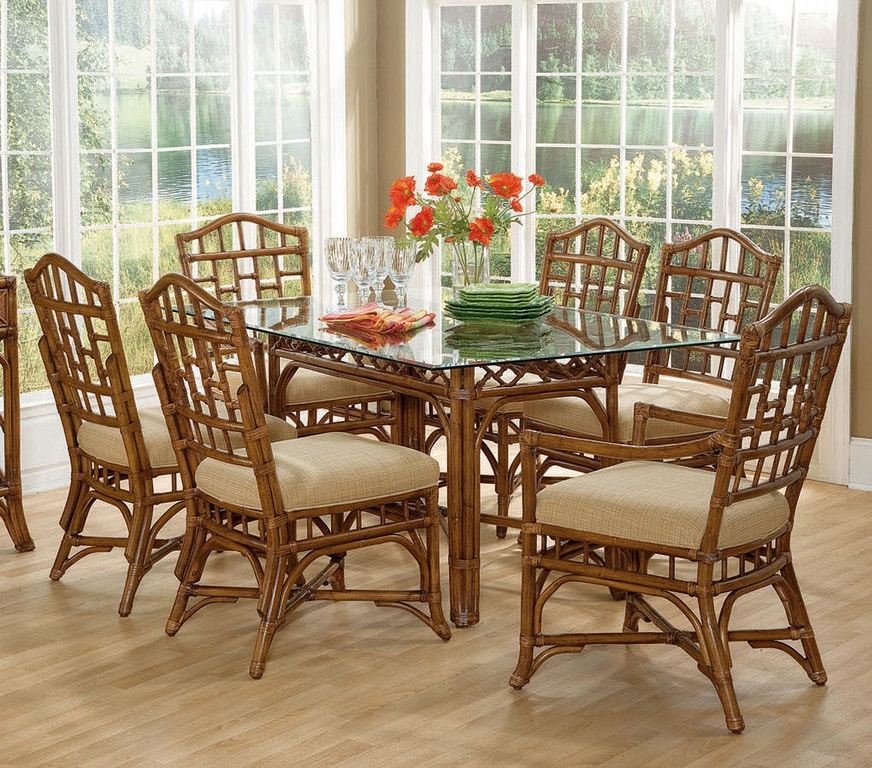 Chippendale Dining Room Set: Braxton Culler Chippendale Rectangular Dining Room Set 970