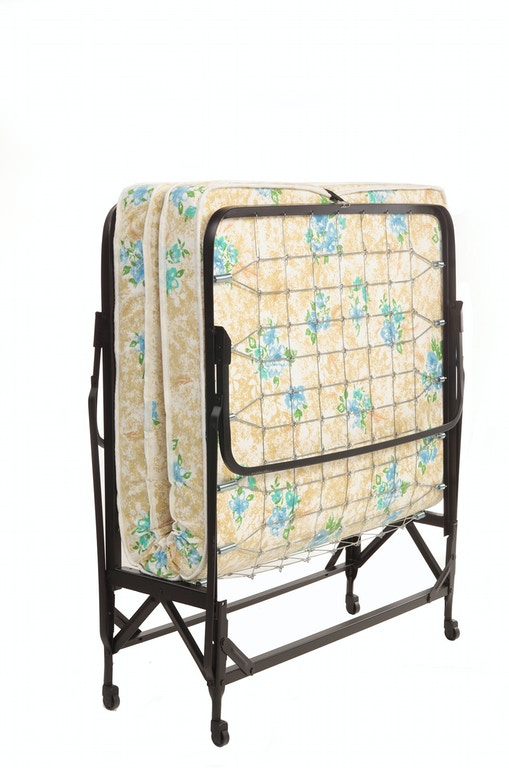 Fashion Bed Group Deluxe Rollaway 1221 Folding Link Spring With 39 Foam Mattress And