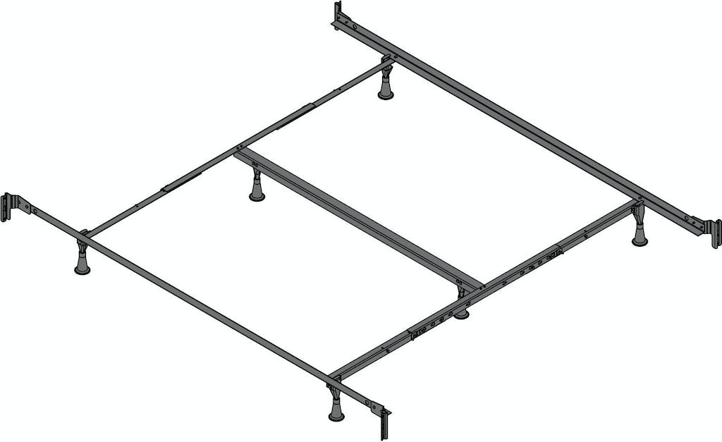 Leggett Amp Platt Mattresses Engineered Bed Frame Pl860 Rb