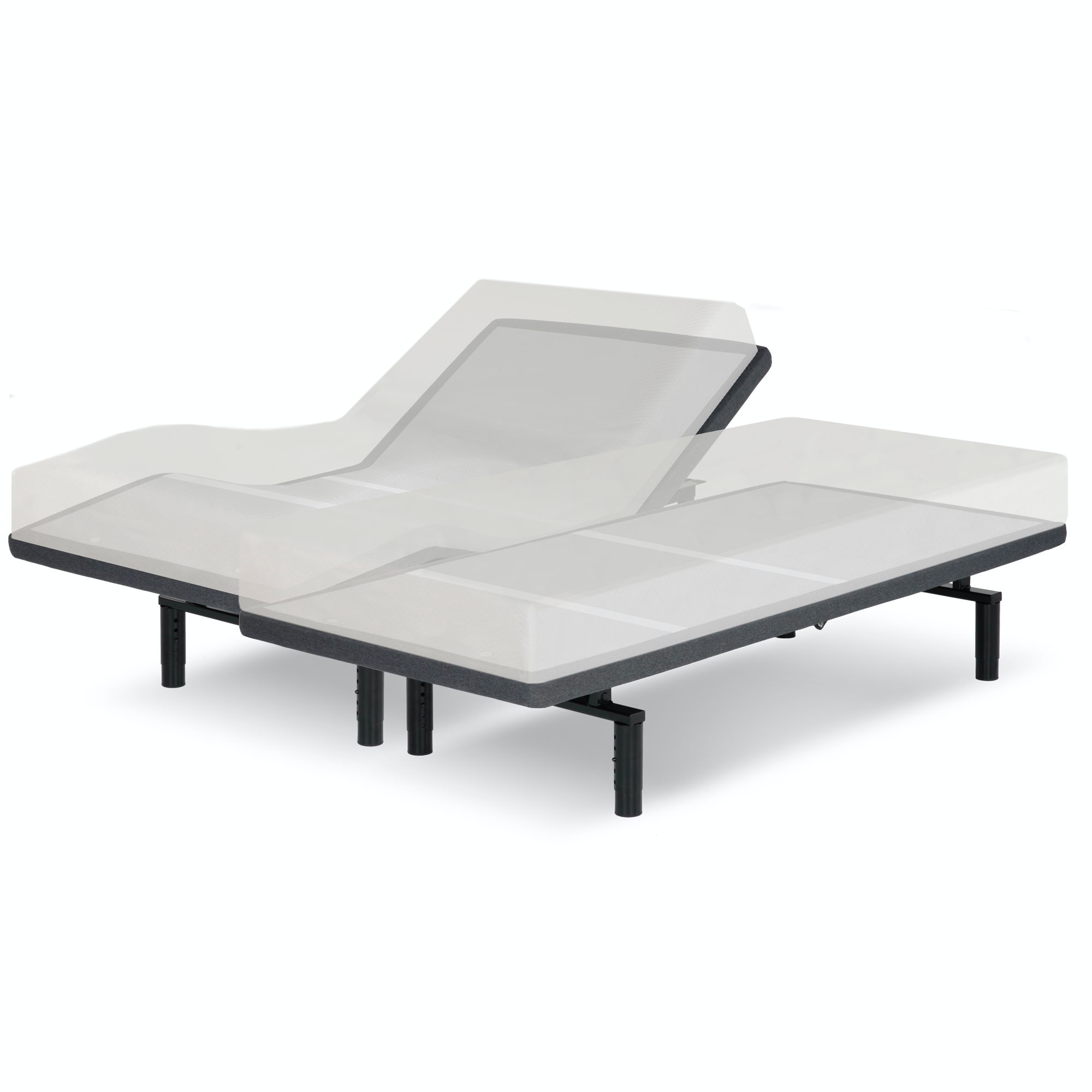 Leggett /& Platt Falcon 2.0 Split California King Adjustable Bed Base