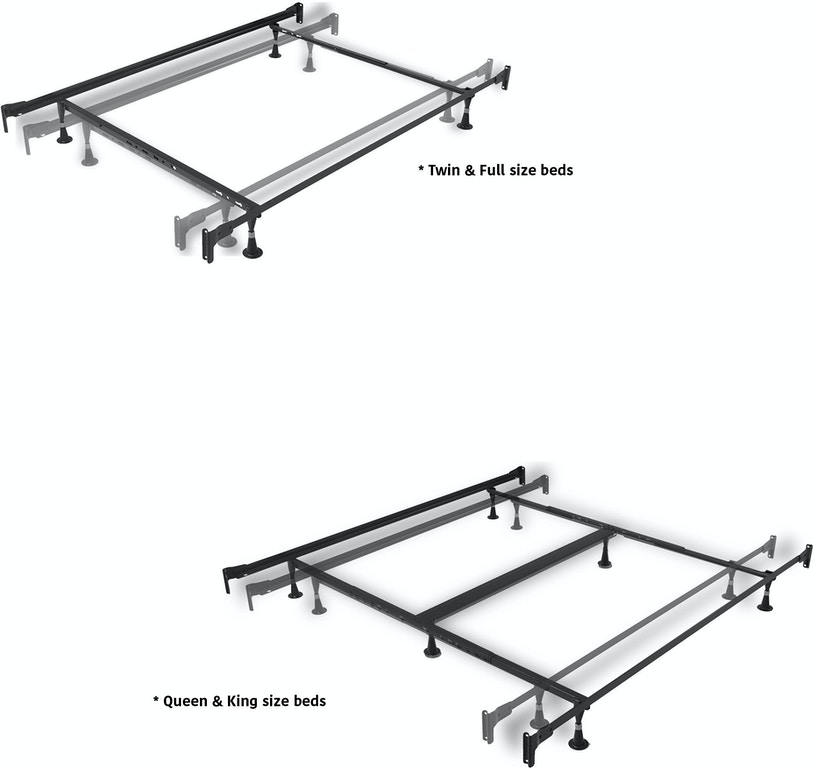 8fc7834a59d ... Fashion Bed Group Rhapsody Complete Metal Bed and Steel Support Frame  with Delicate Scrolls and Finial