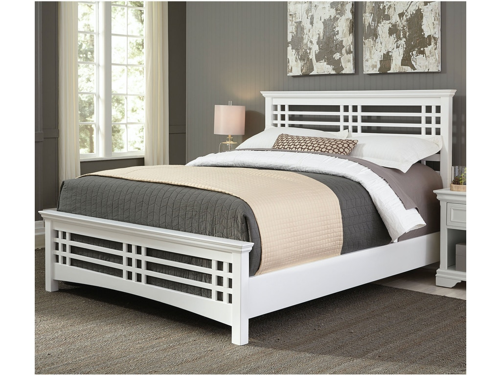 Fashion Bed Group Bedroom Avery Complete Bed With Wood