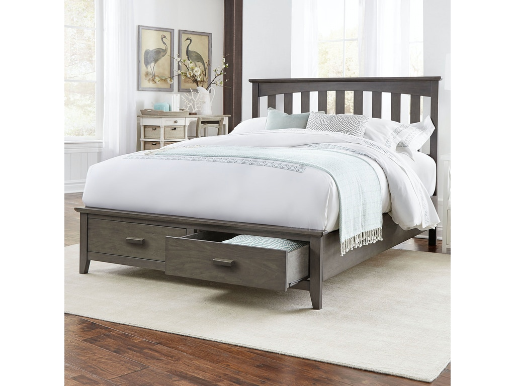 Leggett Amp Platt Bedroom Hampton Complete Wood Storage Bed