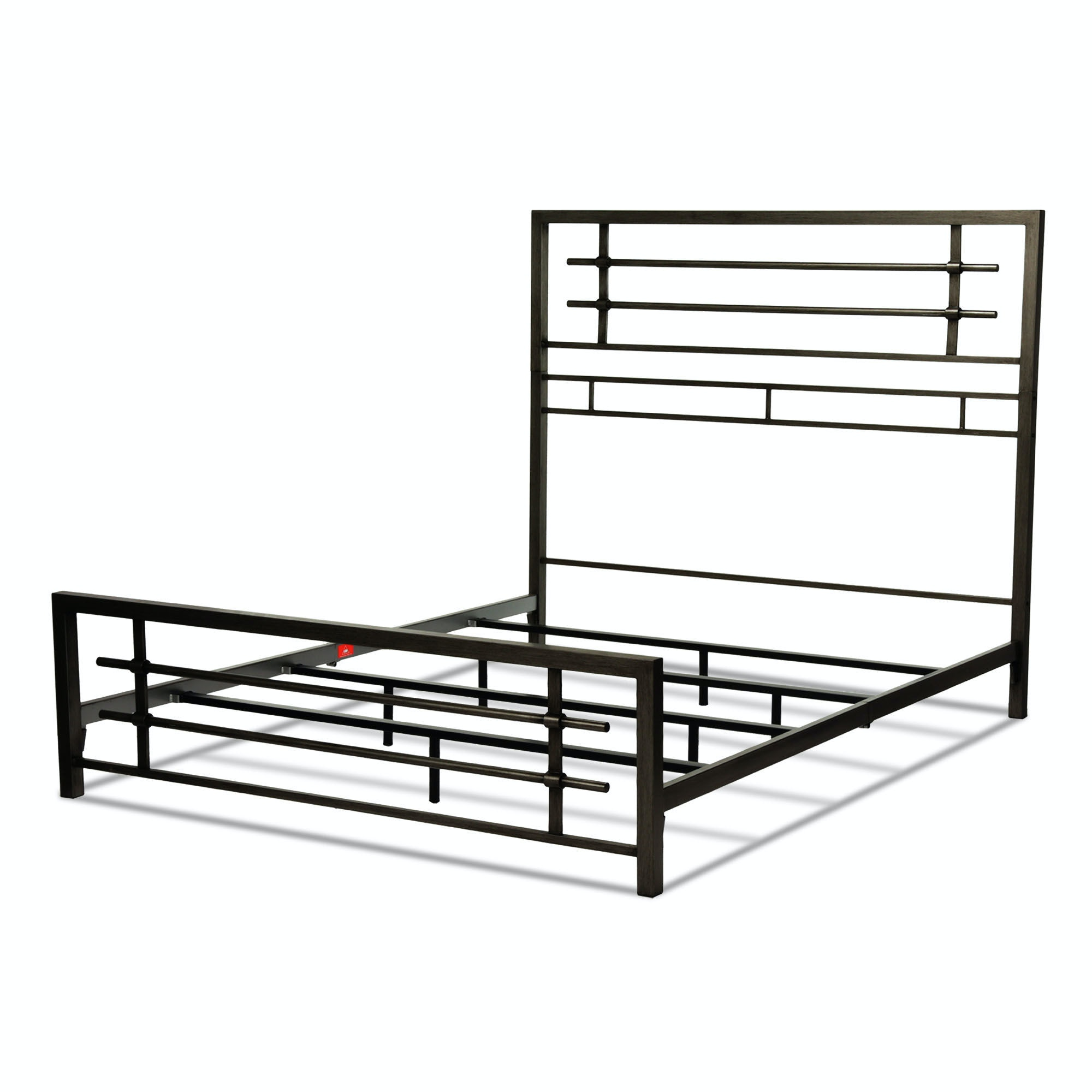 Fashion Bed Group Bedroom Colton Metal Snap Bed With Folding Frame
