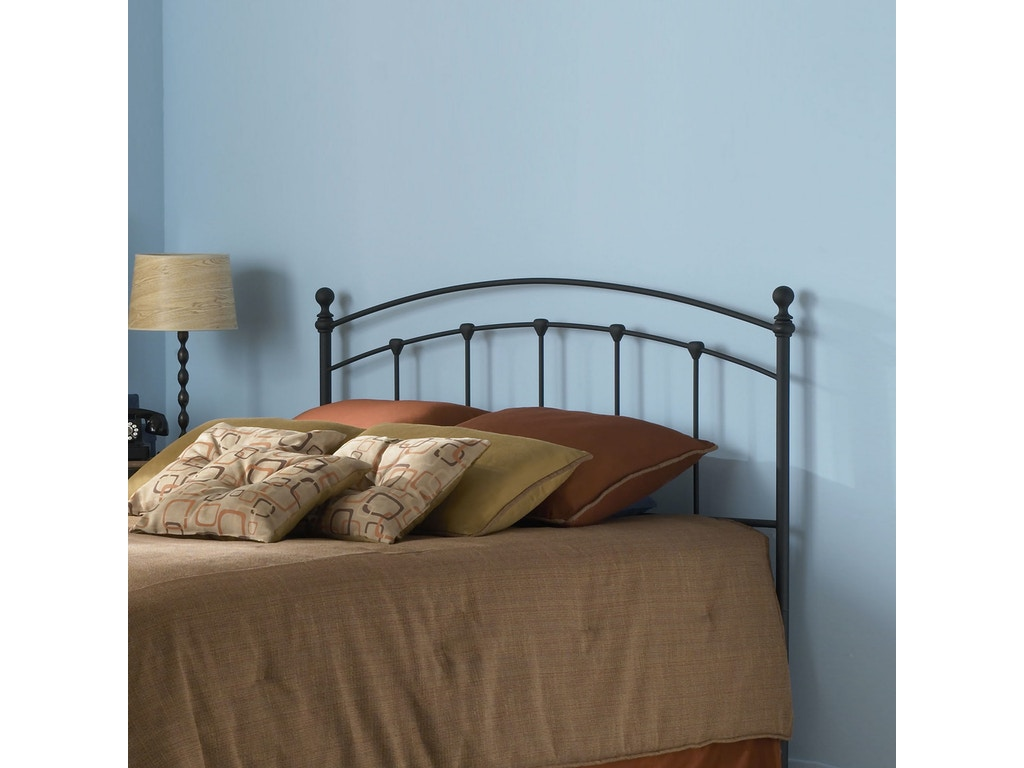 Fashion Bed Group Bedroom Sanford 5 0 Headboard Matte Black Os B42445 Hickory Furniture Mart