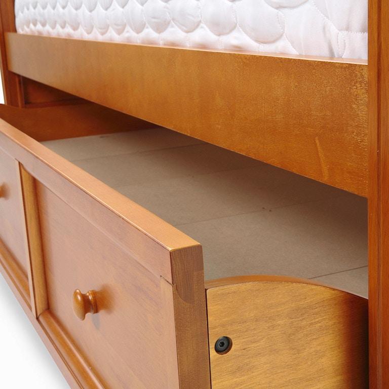 Fashion Bed Group Casey Ii Honey Maple Trundle Unit Os B50c50