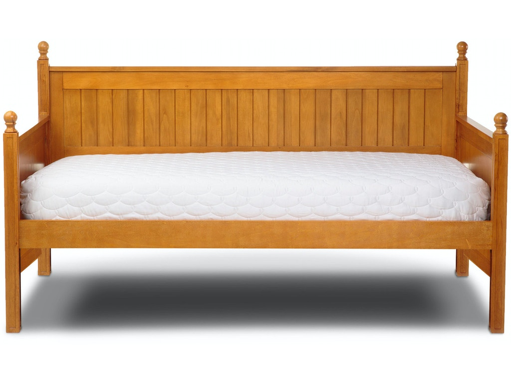 Fashion Bed Group Bedroom Casey Ii Wood Daybed With Ball