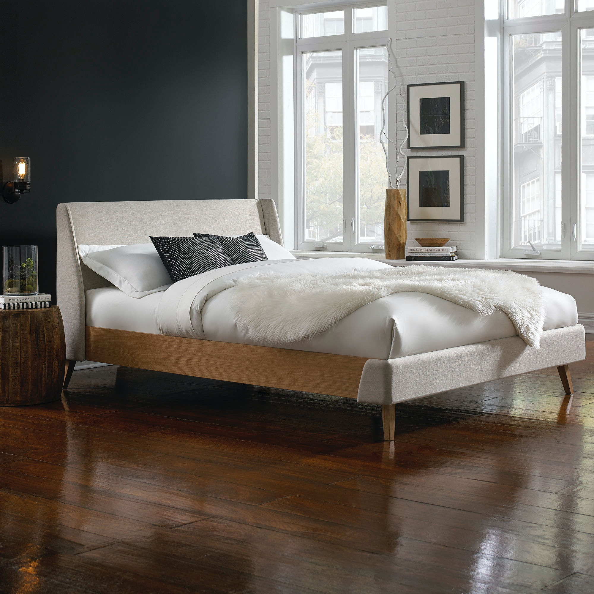 fashion bed group bedroom palmer complete platform bed with