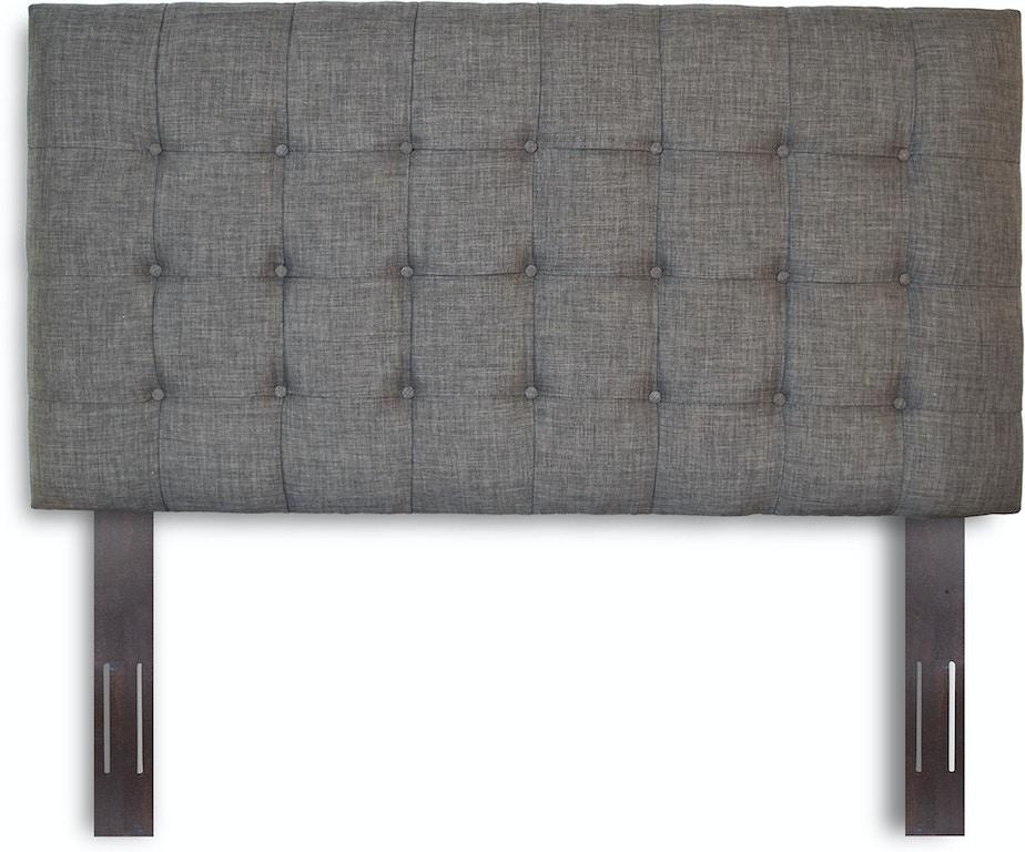 6591a1e5c9c2 ... Leggett   Platt Strasbourg Button-Tuft Upholstered Headboard with  Adjustable Height