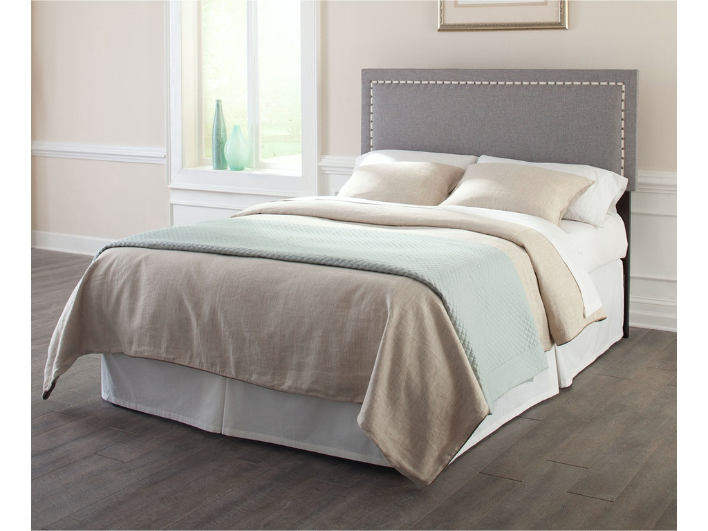Fashion bed group bedroom wellford upholstered adjustable for Stylish leather beds