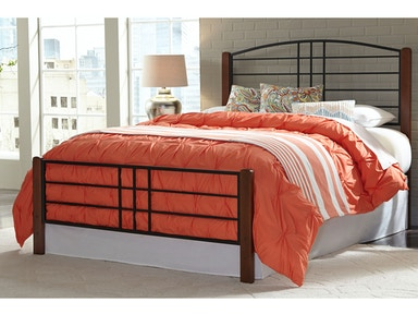 Fashion Bed Group Bedroom Dayton Complete Metal Bed And Steel