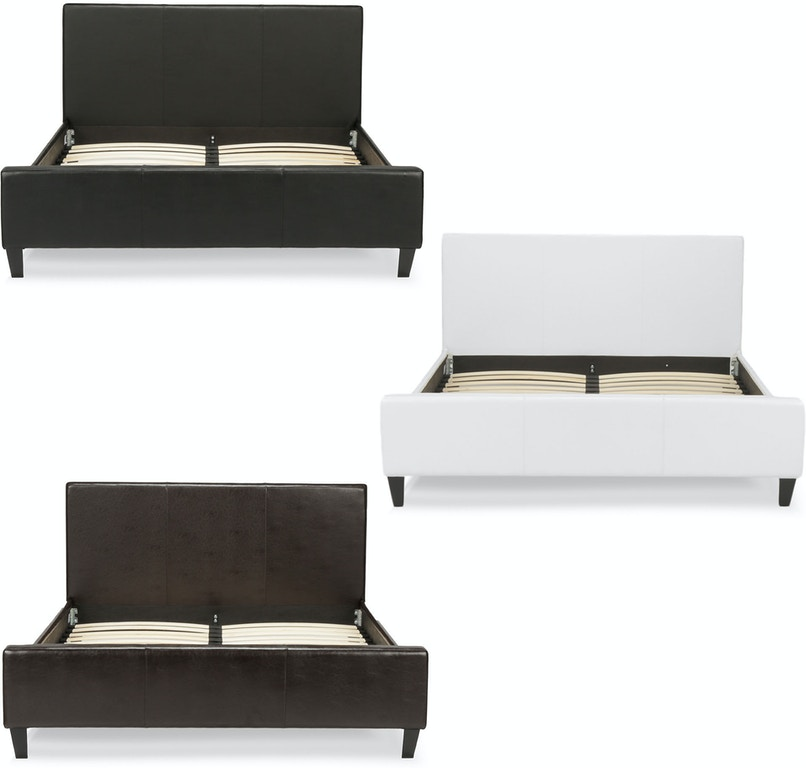 Peachy Leggett Platt Bedroom Euro Complete Faux Leather Home Interior And Landscaping Ologienasavecom