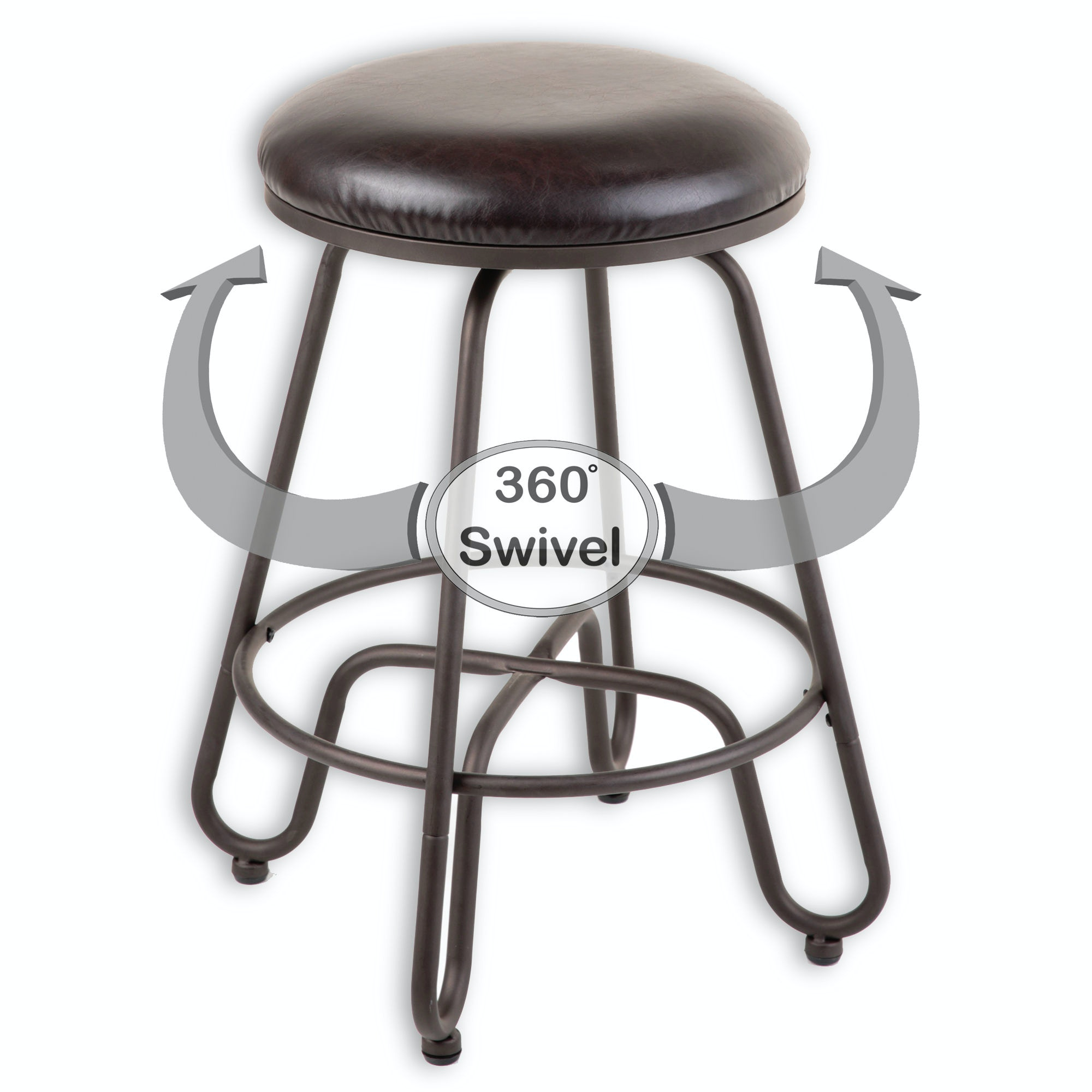 Fashion Bed Group Bar And Game Room Denver Metal Counter Stool With