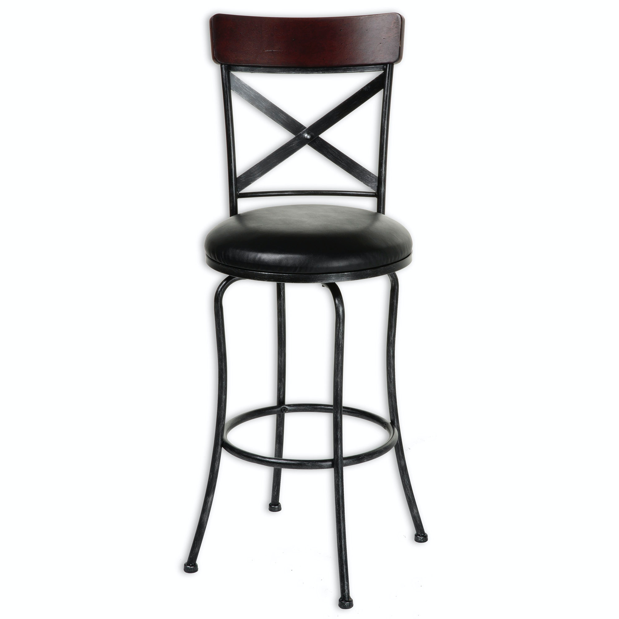 Fashion Bed Group Bar And Game Room Austin Swivel Seat Counter Stool