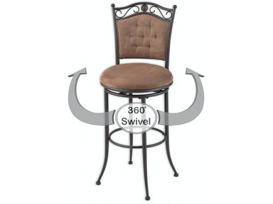 Fabulous Leggett Platt Bar And Game Room Helena Swivel Seat Bar Dailytribune Chair Design For Home Dailytribuneorg
