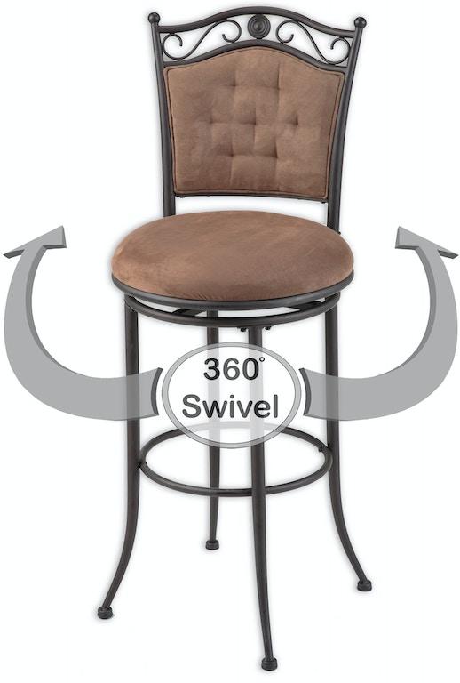 Sensational Leggett Platt Bar And Game Room Helena Swivel Seat Bar Dailytribune Chair Design For Home Dailytribuneorg