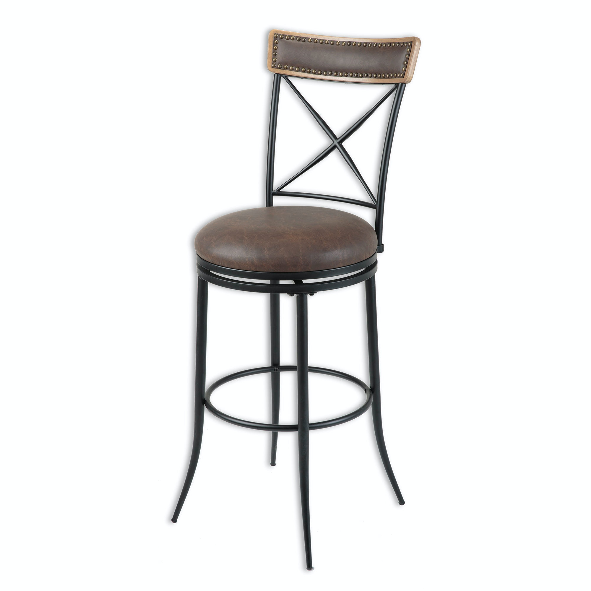 Fashion Bed Group Bar And Game Room Boise Metal Counter Stool With
