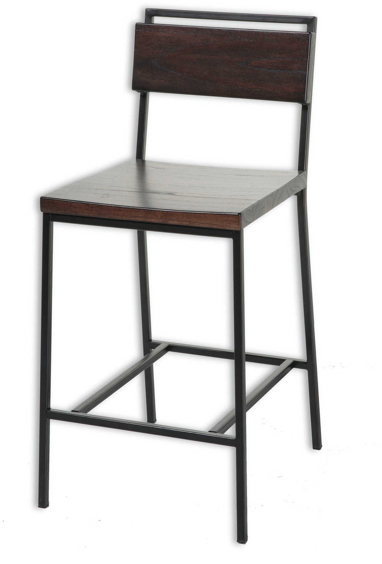 Fashion Bed Group Bar And Game Room Olympia Counter Stool With Black
