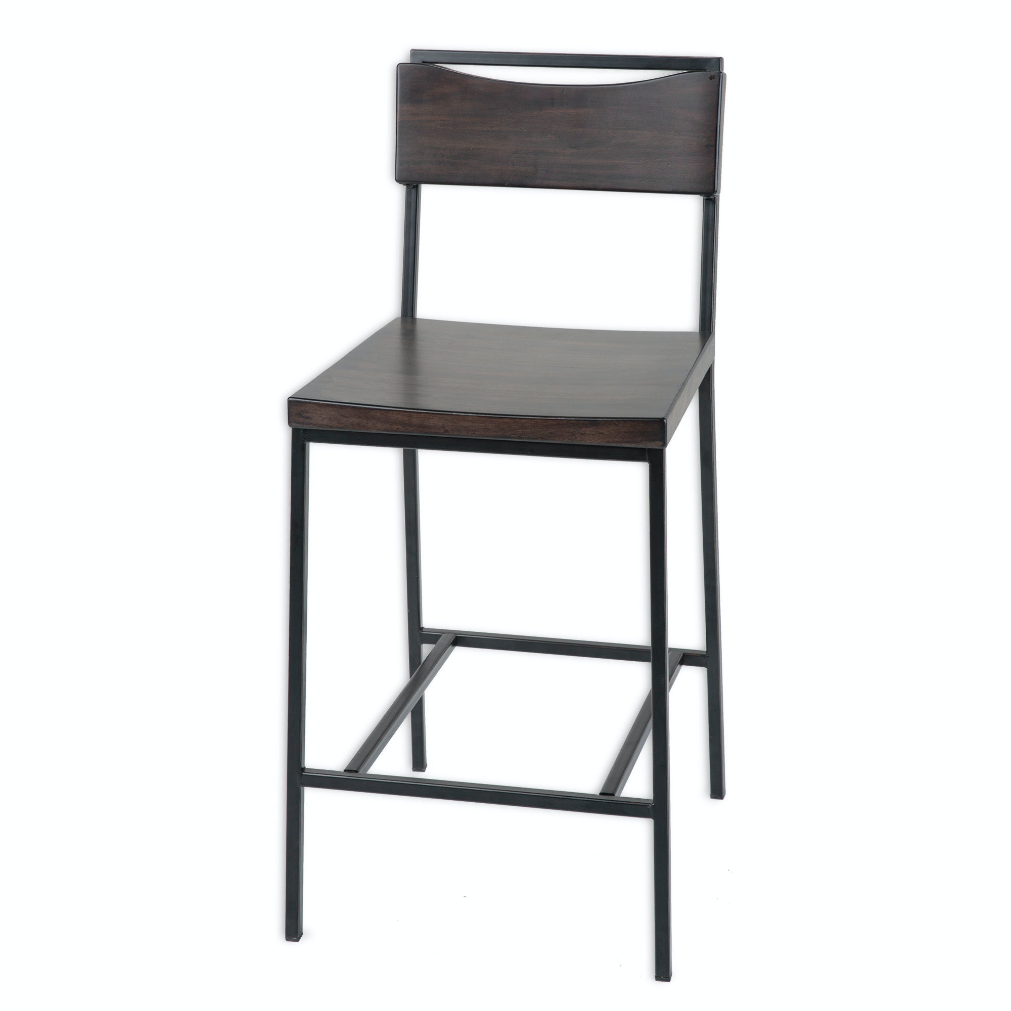 Fashion Bed Group Bar And Game Room Columbus Metal Counter Stool