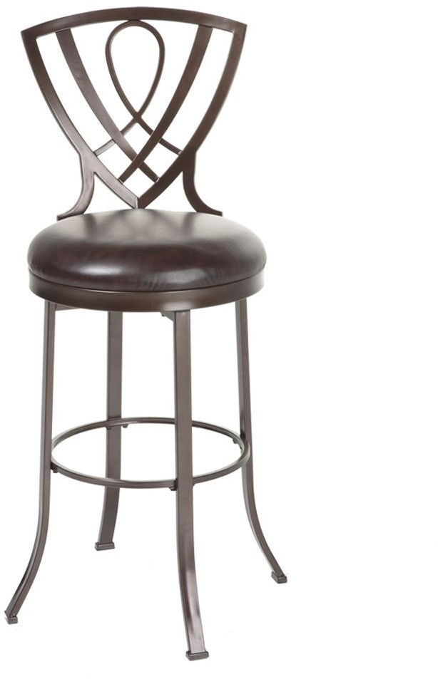 Fashion Bed Group Bar And Game Room Lincoln Swivel Seat Bar Stool