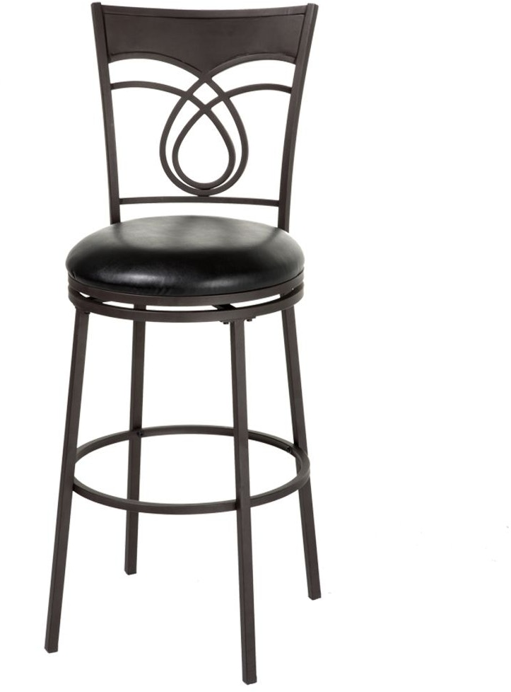 Fashion Bed Group Bar And Game Room Madison Swivel Seat Bar Stool