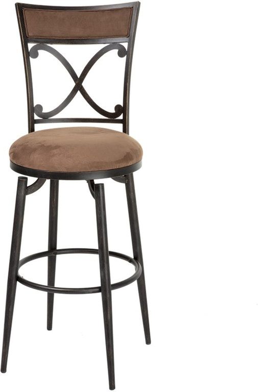 Strange Shop Our Montgomery Swivel Seat Bar Stool With Blackened Dailytribune Chair Design For Home Dailytribuneorg