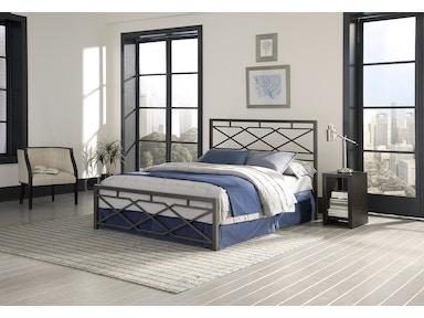 Leggett & Platt Bedroom Alpine Metal SNAP Bed with Folding Frame