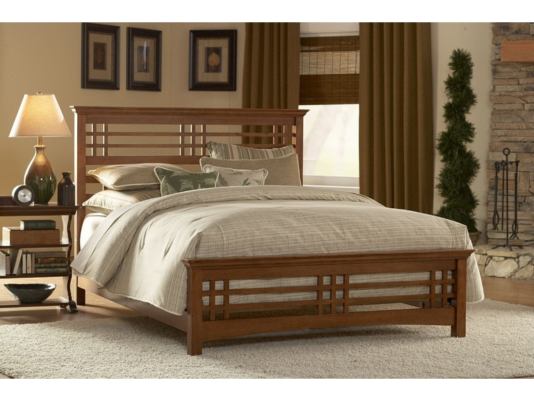 Leggett Platt Bedroom Avery Complete Wood Bed And Bedding Support System With Mission Style