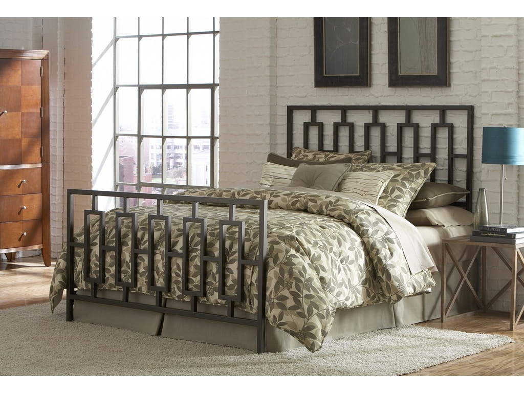 Fashion Bed Group B61445 Bedroom Miami 5 0 Queen Bed