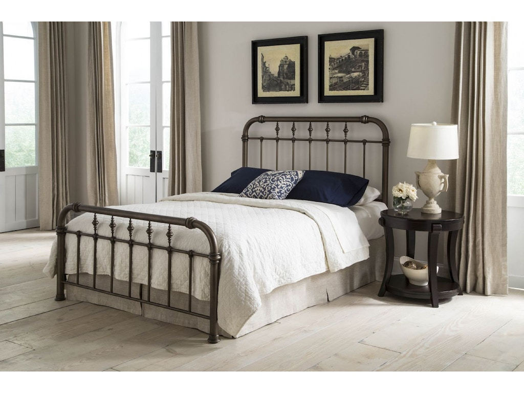 Fashion bed group bedroom vienna 5 0 queen bed b10345 for Big w bedroom furniture