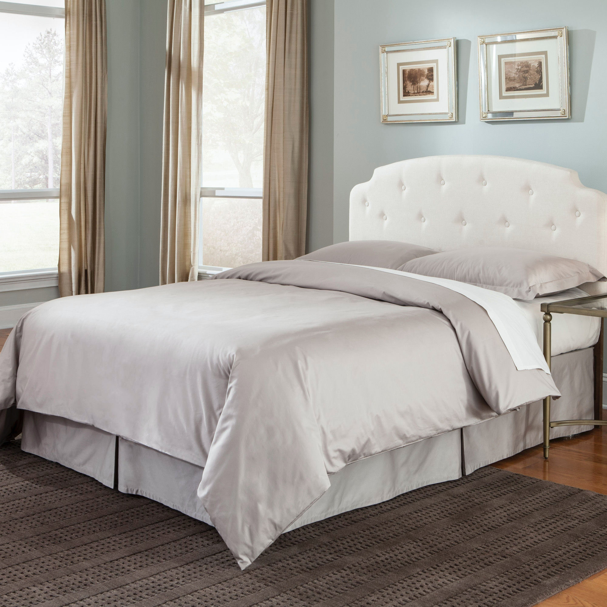 Fashion Bed Group QA0099 Sand Finished Bed Skirt, Queen