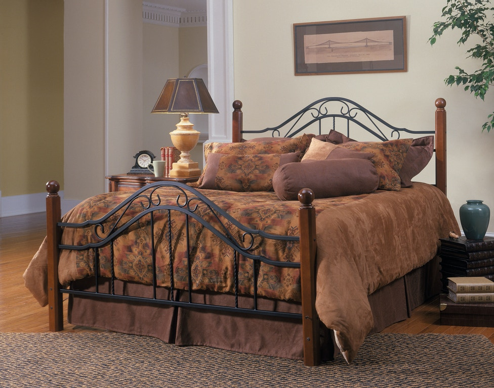 Hillsdale Furniture Bedroom Madison Bed Set Queen With