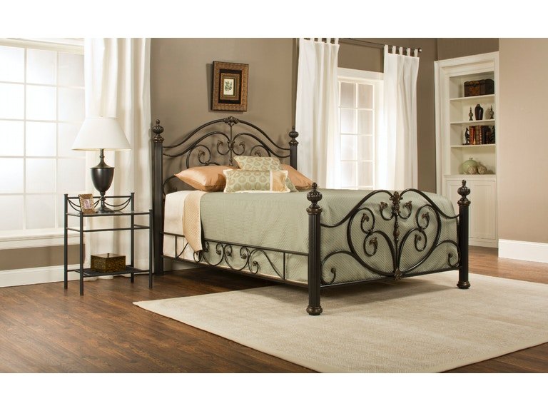 Hillsdale Furniture Bedroom Grand Isle Bed Set King With Rails - Grand furniture bedroom sets