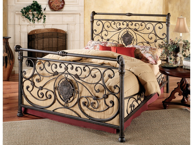 a409139c2008 Hillsdale Furniture Bedroom Mercer Bed Set Side Rails - Queen 1039-550 at  Budget Furniture