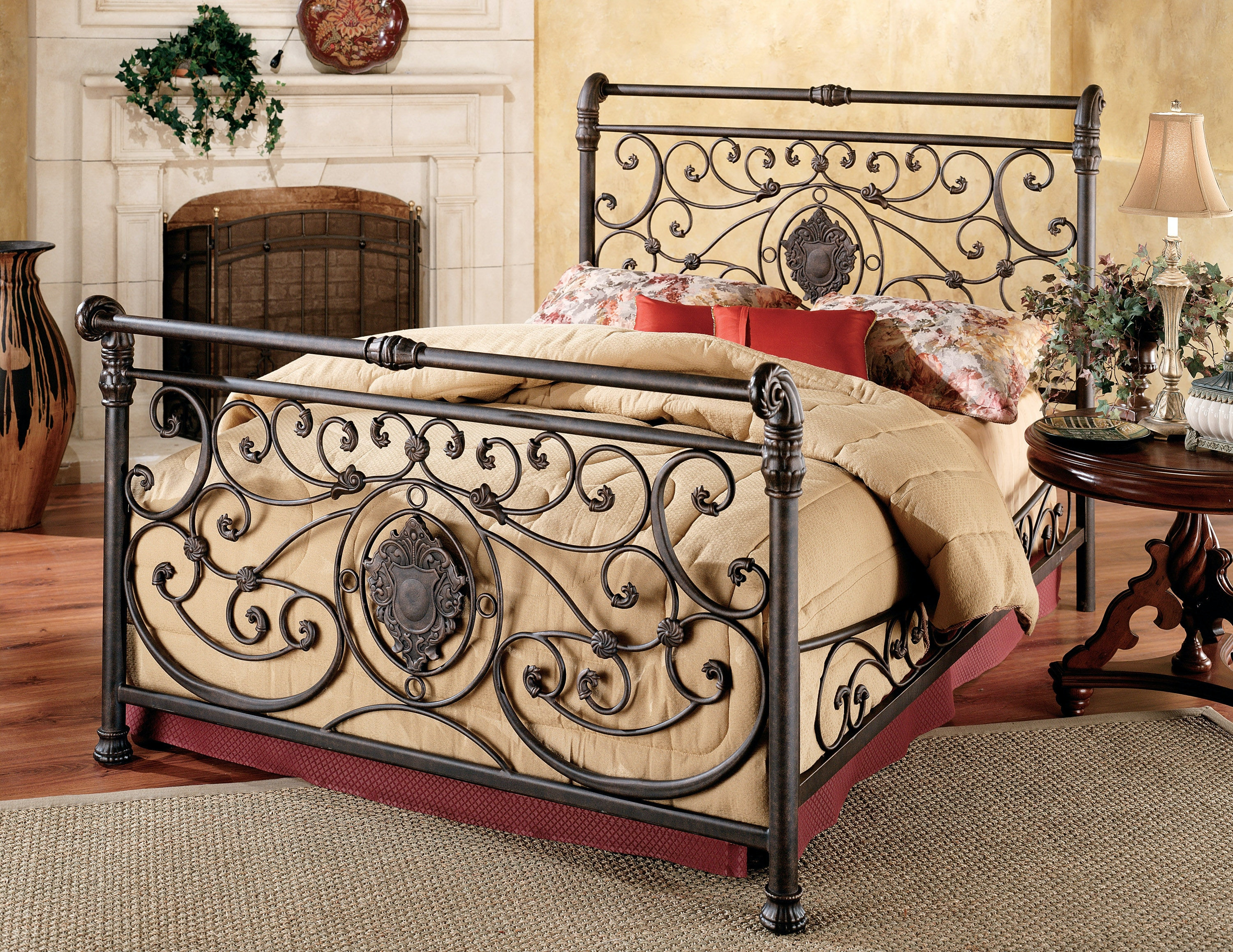 Delightful Hillsdale Furniture Bedroom Mercer Bed   Queen 460523P At Naturwood Home  Furnishings
