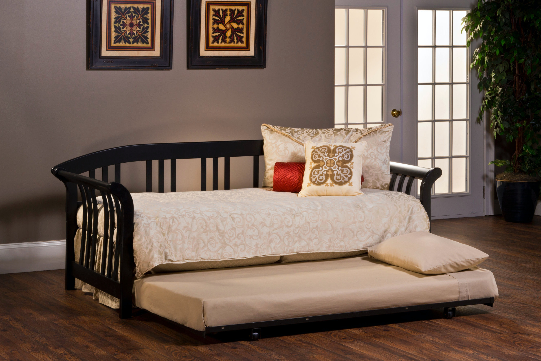 Hillsdale Furniture Dorchester Daybed   Suspension Deck Not Included    Black 1046DB