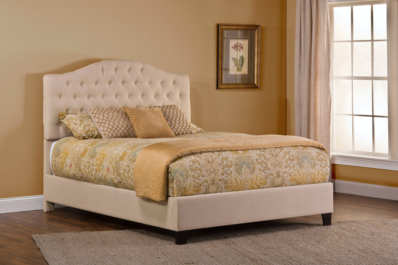 Hillsdale Furniture Bedroom Jamie Upholstered Bed Set Queen Rails Included 1125bqr Gavigan S