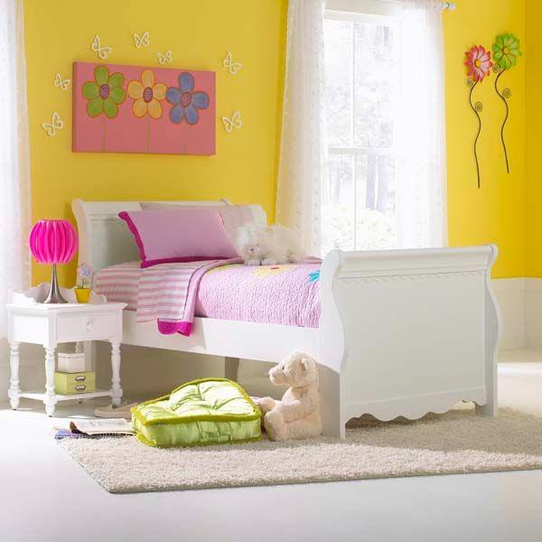 Hillsdale Furniture Lauren Sleigh Headboard   Twin 1528 370W
