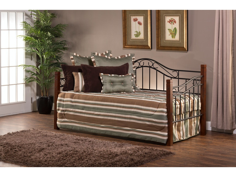 Hilale Furniture Bedroom Matson Daybed Wood Posts 1159 020