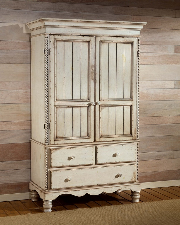 Hillsdale Furniture Bedroom Wilshire Armoire 1172M - Carol ...