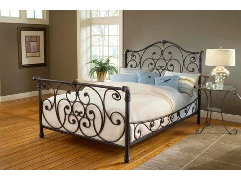 dec3711b27ed Hillsdale Furniture Bedroom Mandalay Bed Set - Queen - with Side Rails  1579BQR at Love's Bedding