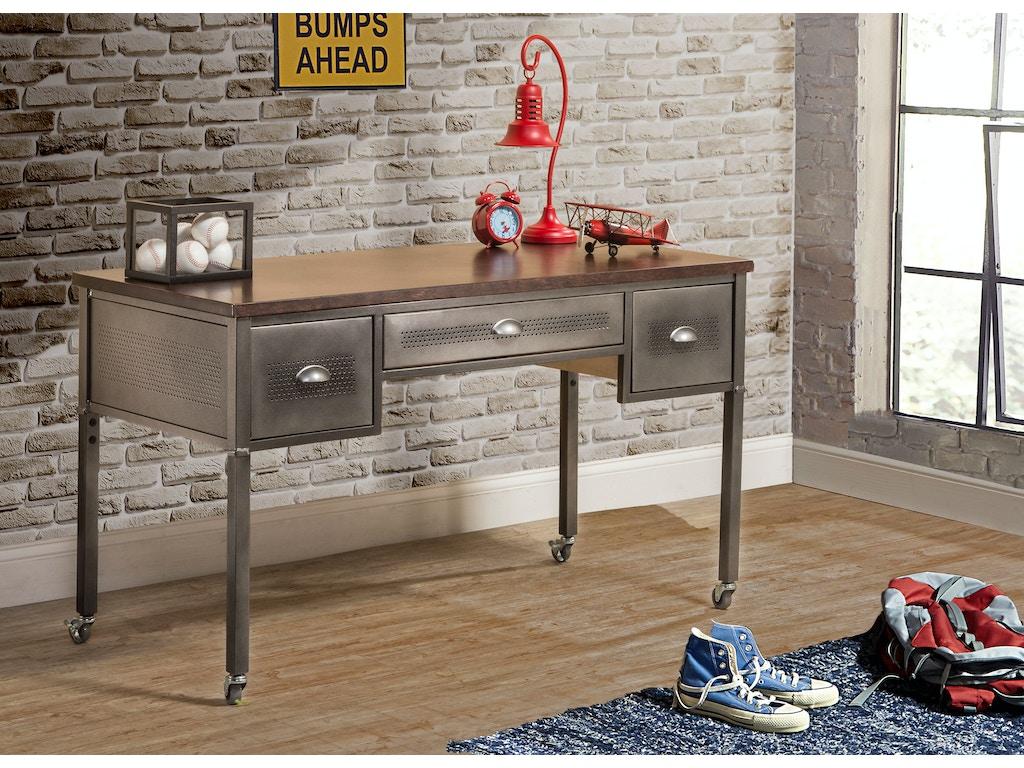 Hillsdale furniture youth urban quarters desk 1265 779r for Urban furniture