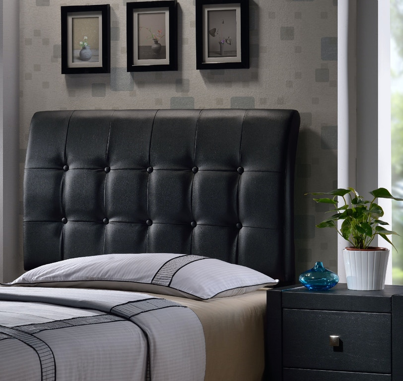 Hilale Furniture Youth Lusso Headboard Set Twin 1281 370 At Love S Bedding And